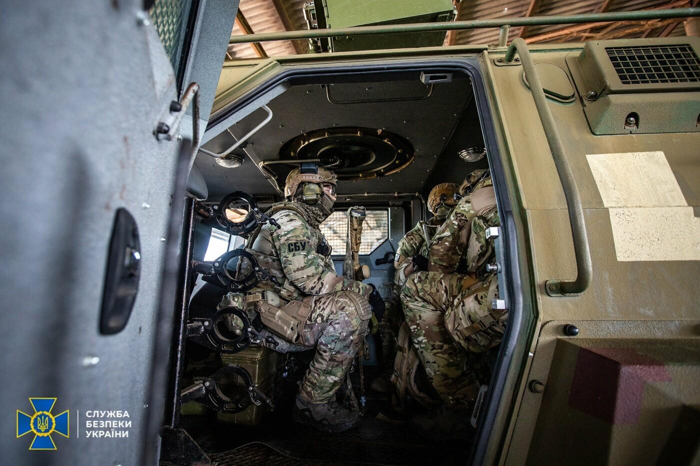 Украинские спецслужбы провели учения вблизи линии разграничения на Донбассе, - ФОТО, фото-13