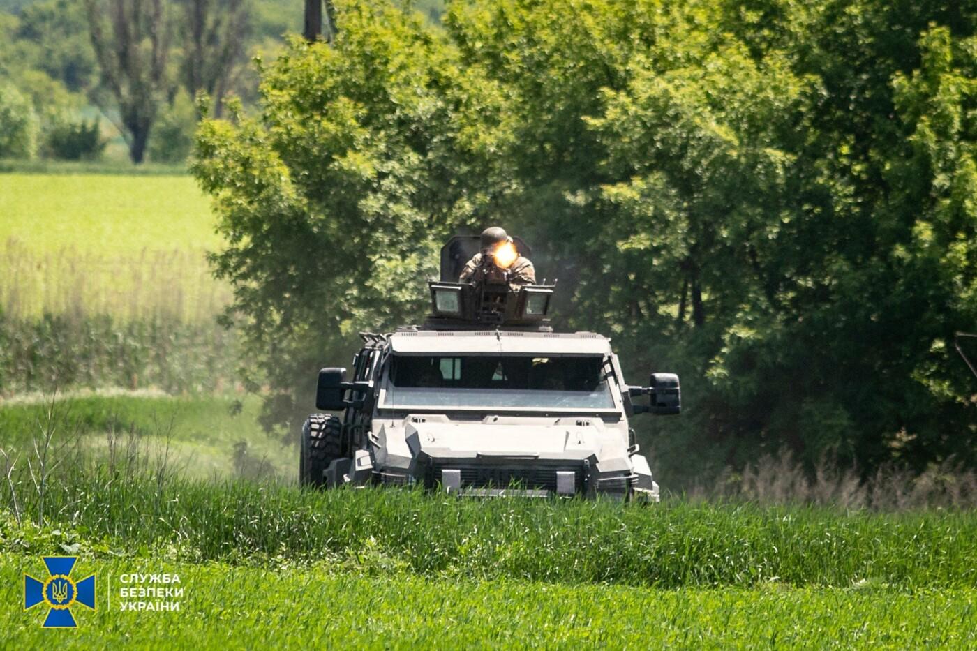 Украинские спецслужбы провели учения вблизи линии разграничения на Донбассе, - ФОТО, фото-15