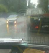 В оккупированном Донецке дождевая вода смывает асфальт, - ФОТО, фото-3