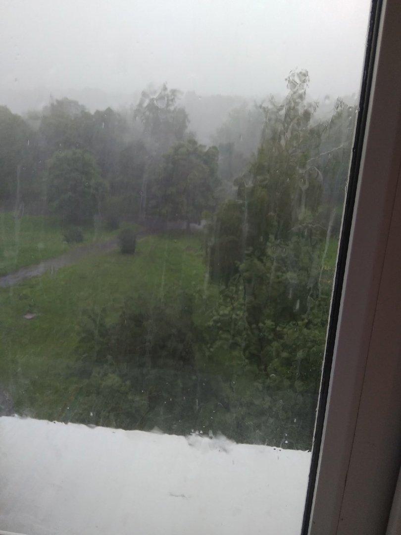 В оккупированном Донецке дождевая вода смывает асфальт, - ФОТО, фото-4