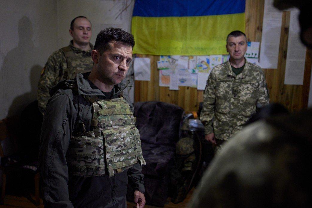 Зеленский посетил передовую на Донбассе, - ФОТО, фото-3