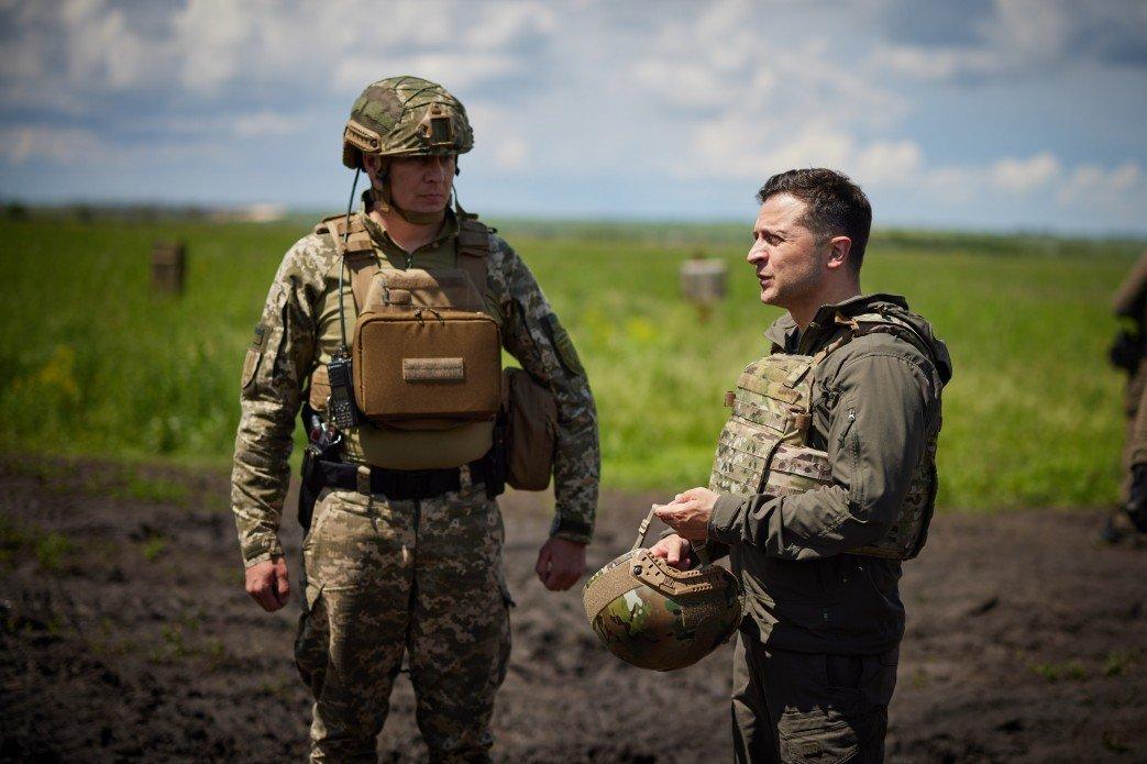 Зеленский посетил передовую на Донбассе, - ФОТО, фото-6