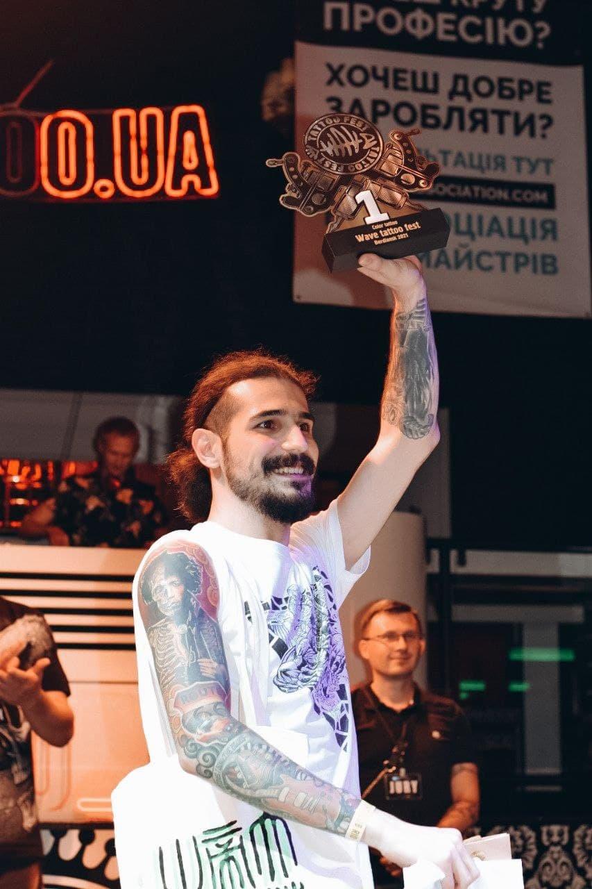 Уникальные тату от лучших мастеров Украины: WAVE TATTOO FEST 2021, фото-29