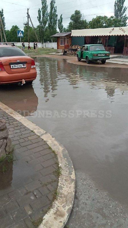 «Курорт ДНР» затопило дождем, - ФОТО, фото-1