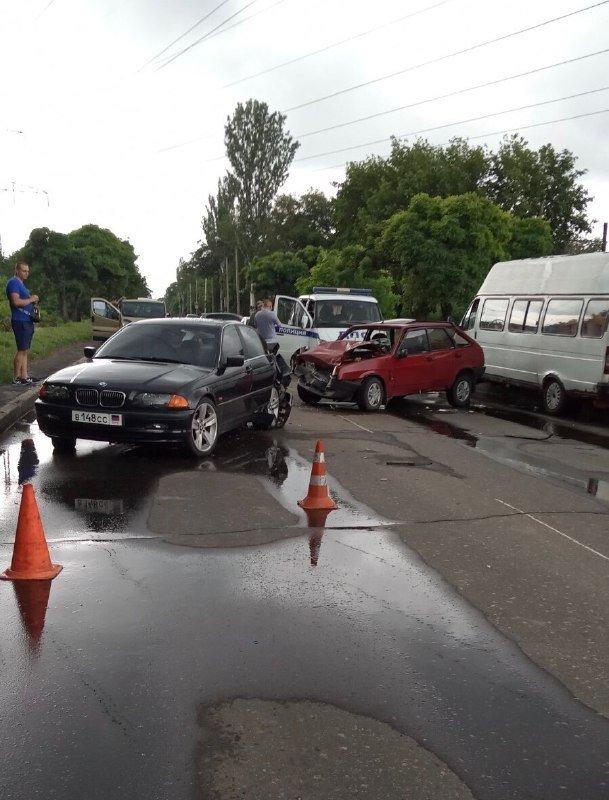 Непогода в ОРДО: произошли многочисленные ДТП, – ФОТО, фото-1