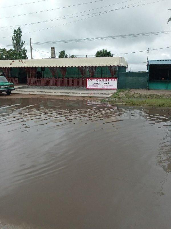 «Курорт ДНР» затопило дождем, - ФОТО, фото-2