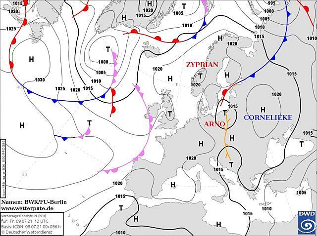 Антициклон Cornelieke: синоптики дали прогноз по погоде на Донбассе в ближайшие дни, фото-1