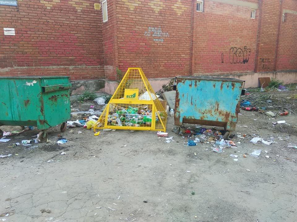 «Тарифы подняли, на мусор забили»: Донецк завален мусором, - ФОТО, фото-8