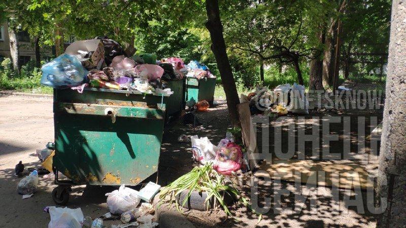 «Тарифы подняли, на мусор забили»: Донецк завален мусором, - ФОТО, фото-2