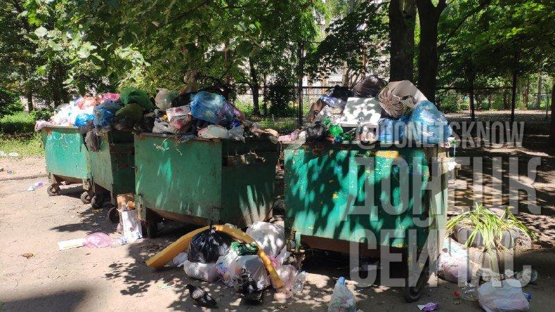 «Тарифы подняли, на мусор забили»: Донецк завален мусором, - ФОТО, фото-3