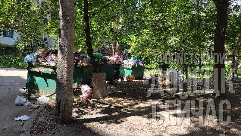 «Тарифы подняли, на мусор забили»: Донецк завален мусором, - ФОТО, фото-5