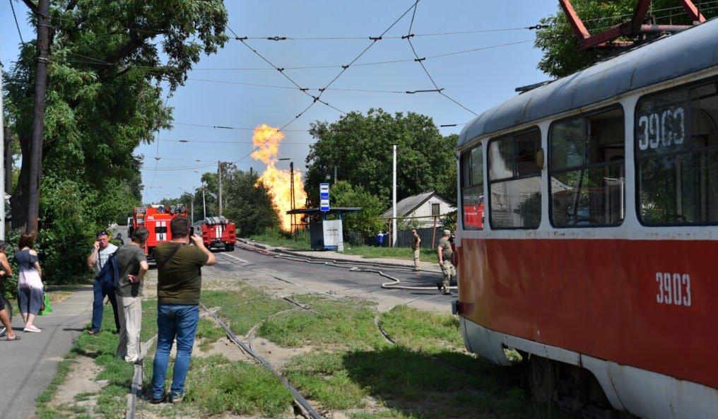 Крупный пожар в Донецке потушили: стало известно, что сгорело, - ФОТО, фото-2