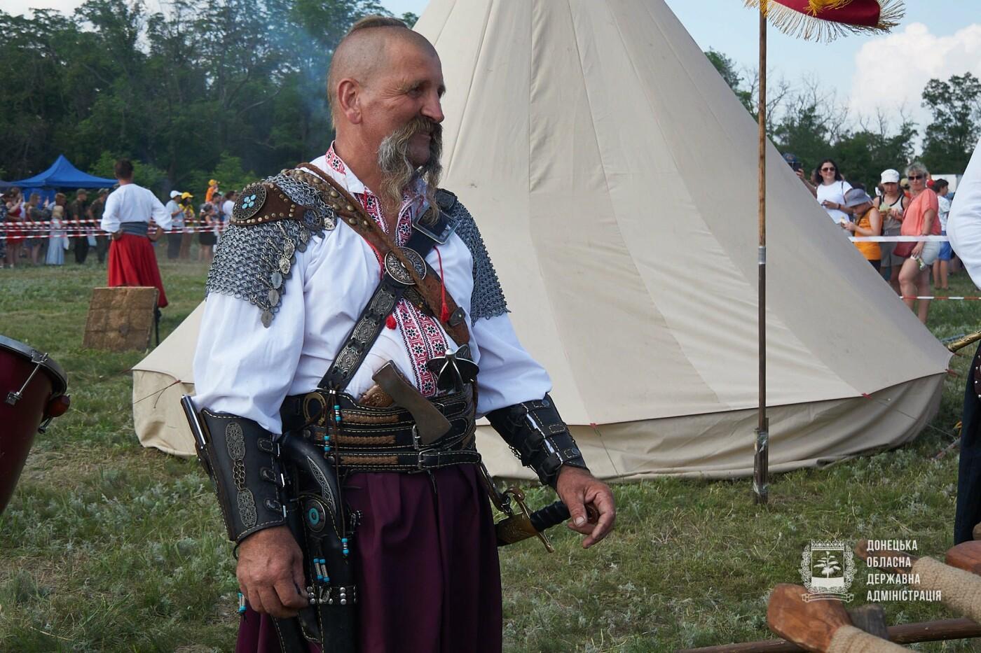 В Донецкой области открылся фестиваль исторических реконструкций «Дикое поле. Путь в Европу», - ФОТО, фото-8