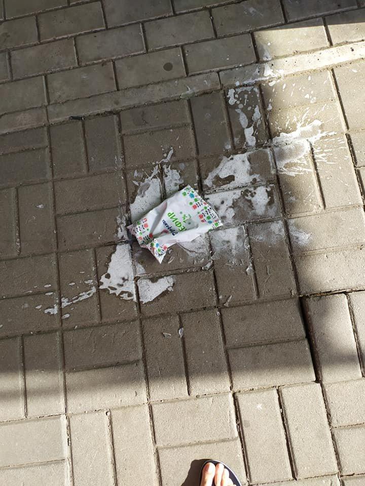 Окурки, объедки, умирающие розы: центр Донецка завален мусором, - ФОТО, фото-8
