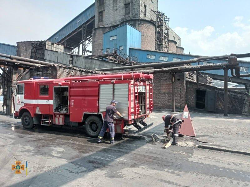 В Авдеевке произошел пожар на коксохимическом заводе, - ФОТО, фото-2